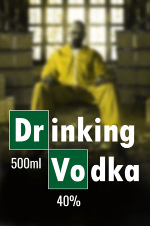 filmowe naklejki na wódkę