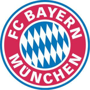 FC BAYERN naklejka klubowa