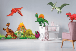 naklejki z dinozaurami