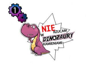nie rzucam kamieniami w dinozaury