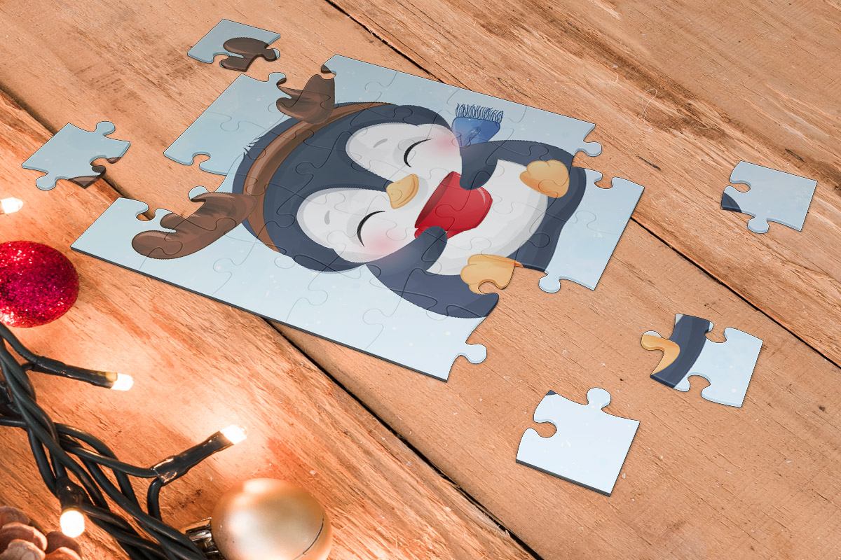 PUZZLE PINGWIN