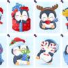zimowe pingwiny