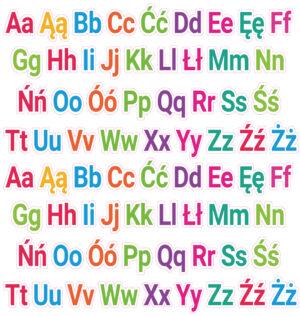 literki zestaw a4