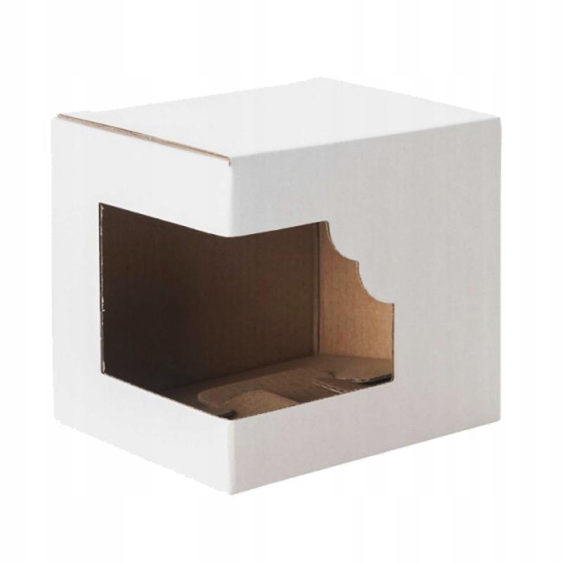 Pudełko na kubek z okienkiem